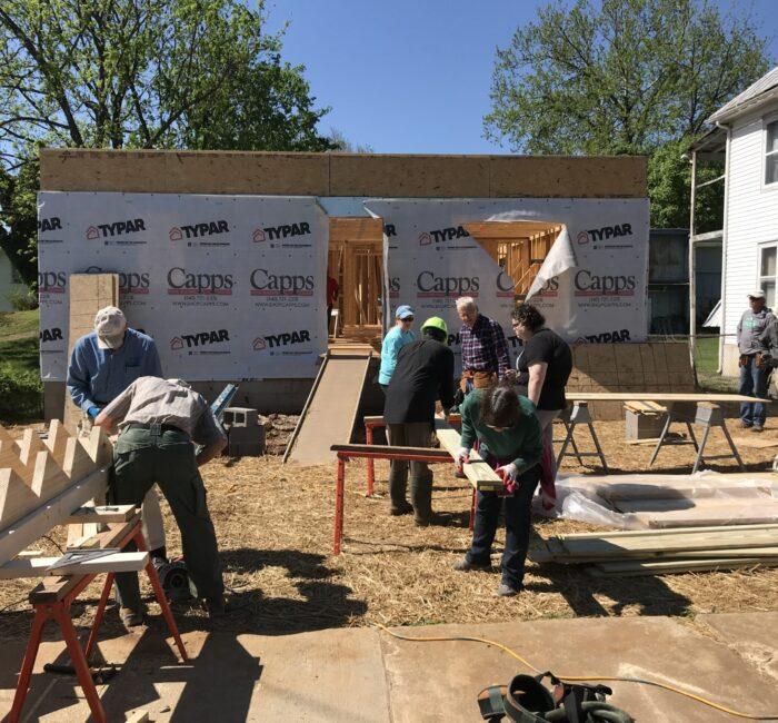 Habitat build April 27, 2019