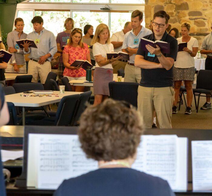 Singing at Massanetta Springs